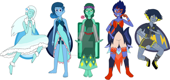 Elemental Lapis Adopts: CLOSED (5/5) by NotoriousDogfight