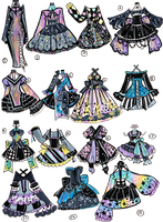 CLOSED - Dresses by Guppie-Vibes