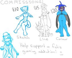 Updated Commission Information by TehFeeesh