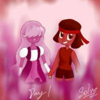 RubySapphire ||Pride Month/ day 1|| by xXSilvrTheShipprXx