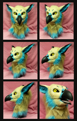 Blue marked Gryphon RELISTED AUCTION by FeralFacade