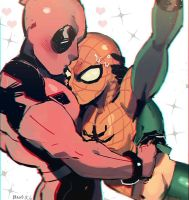 Spideypool by angla8011