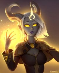 Cephia, Lightforged Priest by Zeon-in-a-tree