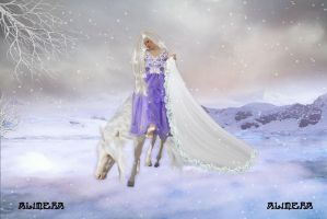The winter lady by Alimera