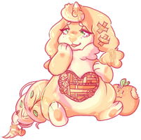 peachy keen by irlnya