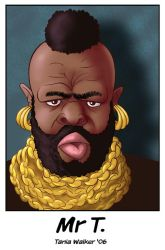 Caricature: Mr T by animator