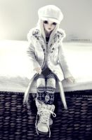 Jess - winter fashion by AndrejA
