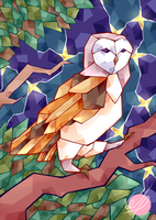 Owl by Weepinbelly