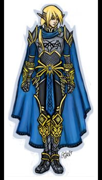 Concept Art: King Kia'nthell by The-Beautiful-Sin