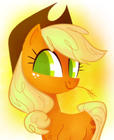 apple pony by spacekitsch