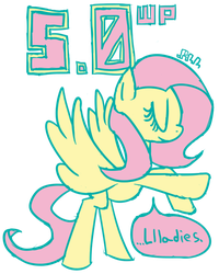PONY BOASTS THE WIND by L3Gr1m