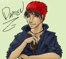 Damien -iScribbleness- by AnimeVSReality