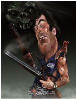 BRUCE CAMPBELL by dugazm