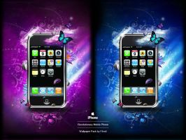 IPhone 3G Fantasy Walls by F4rn4
