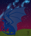 Starry Night :Christmas Gift: by AbyssinalPhantom