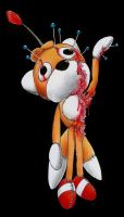 Tails Doll: Dummy for voodoo by Dash-The-Cheetah