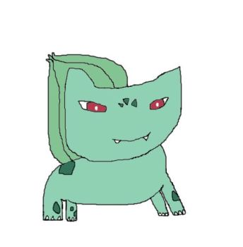 Bulbasaur Drawing by PikPikPokemon