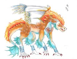 Five Element Dragon by AnimeMaven