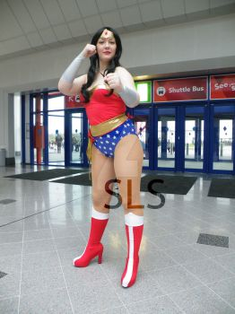 Wonder woman MCM Expo Birmingham by Shadowland13