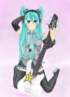 Miku Rockstar 1-3 by Office-Space