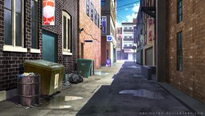 Alleyway by Vui-Huynh