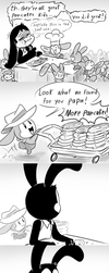 Death By Pancakes (QFTIM Shenanigans) by thegreatrouge