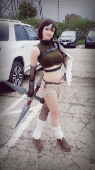 Yuffie!! by breathelifeindeeply