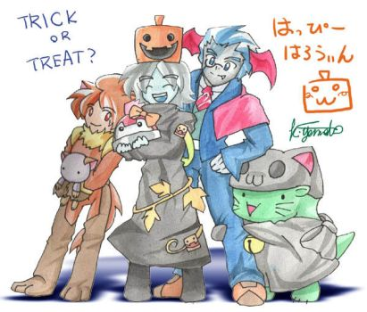 Happy Halloween 2010 by MAINFRAME-FanClub