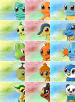 All Pokemon Starters