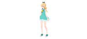 [MMD] TDA Princess rosalina sport DL by ToddynhoIce