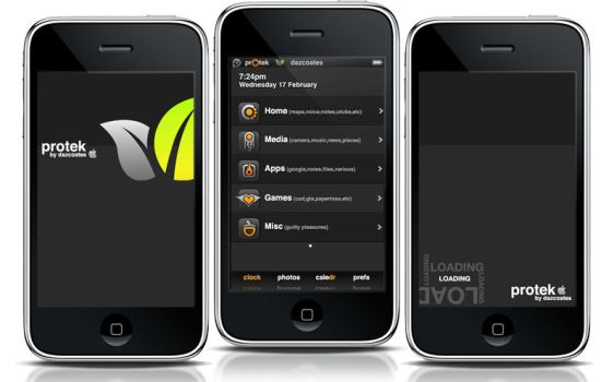 prOtek iphone theme by darren-coates