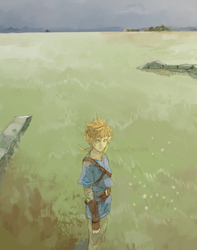 LoZ: Calm Before the Storm by saltycatfish