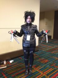Edward Scissorhands at ConnectiCon 2013 by Glam-Baby