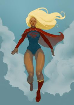 Supergirl by D-TERGENT