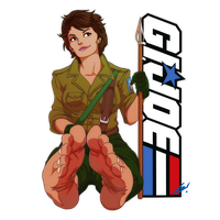 Ladies of Saturday Morning - Lady Jaye by scamwich