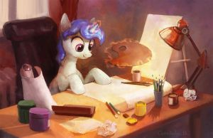 Crayon Table by Cannibalus
