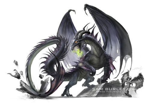 Black Dragon by samburley