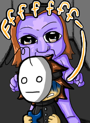 Cry Plays Ao Oni - Tricked by Myth-Legend