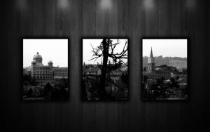 BERN 3 Divided Black and White by LeWelsch