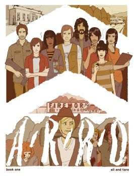 ARRO Book One Cover by fend