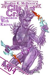CAC504-Demonesswith Knives-TN by BKMcDevitt