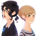 Fem John and Sherlock by Cindacry