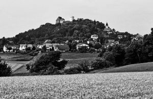 Fortress and village of Otzberg by UdoChristmann
