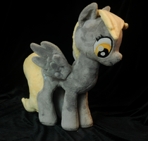 My Little Pony Derpy Plushie by WhiteHeather
