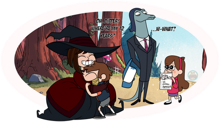 Crossover Time: Gravity Falls by Mother-of-Trolls