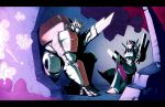 Ratchet and Arcee UNDER ATTACK by dcjosh