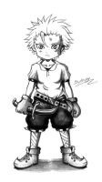 Sketch : Little human thief by Angy89