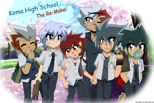 Koma High School: The Re-Make Cover by WonChan108