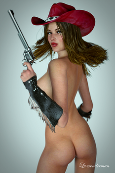 Cowgirl Dolly 2 by luxrenderman
