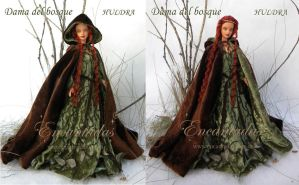 LADY OF THE FOREST (OOAK CUSTOMIZED BARBIE DOLL) by Encantadas
